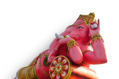 Lord Ganesha the god of lucky Stock Image