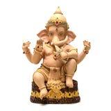 Lord Ganesha - gud av bra lycka Arkivfoton