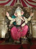 Lord Ganesha i Indien festivaler royaltyfria bilder