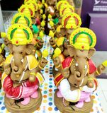 Lord Ganesha Idol stock photo