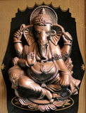 Lord Ganesha idol stock image