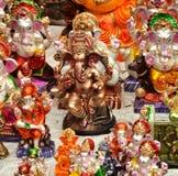 Lord Ganesha Idols Imágenes de archivo libres de regalías