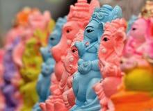 Lord ganesha idols Stock Images