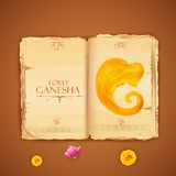 Lord Ganesha Stock Photo