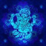 Lord Ganesha indou illustration de vecteur