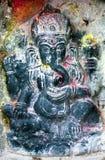 Lord Ganesha. In Kathmandu during festival stock image