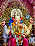 Lord Ganesha at Lalbaug Stock Image