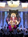 Lord Ganesha at Lalbaug Royalty Free Stock Photos