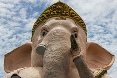 Lord Ganesha lokaliseras i Thailand Arkivbild