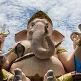 Lord Ganesha lokaliseras i Thailand Royaltyfri Fotografi