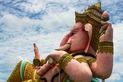 Lord Ganesha lokaliseras i Thailand Royaltyfria Foton