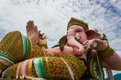 Lord Ganesha lokaliseras i Thailand Arkivbilder