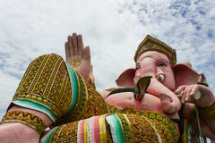 Lord Ganesha lokaliseras i Thailand Arkivfoton