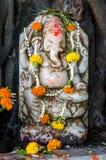 Lord Ganesha på en hinduisk tempel royaltyfri foto