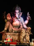 Lord Ganesha Is på indiska festivaler arkivbilder
