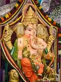 Lord Ganesha an pandal Lizenzfreies Stockbild