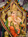 Lord Ganesha at pandal Royalty Free Stock Image