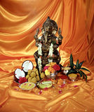 Lord Ganesha Pooja. India festival Stock Photo