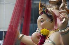 Lord Ganesha Procession Six Arkivfoton