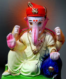 Lord Ganesha with puneri turban royalty free stock images
