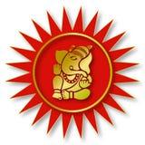 Lord Ganesha Sign Royalty Free Stock Image