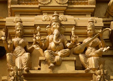 Lord Ganesha at Sri Naheshwara in Bangalore. Stock Image