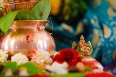 Lord Ganesha, statua del bronzo di ganesha di signore fotografia stock libera da diritti