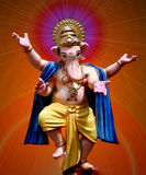 Lord Ganesha - Tanzen stockfotos
