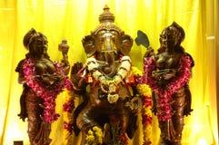 Lord Ganesha während Thaipusam stockbild