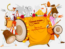 Free Lord Ganpati For Happy Ganesh Chaturthi Festival Celebration Of India Royalty Free Stock Photo - 97997995