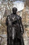 Lord George Bentinck-Statue Lizenzfreie Stockfotografie