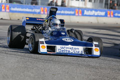 Lord Gregory Thornton i en formel en för Surtees TS -11 Royaltyfria Foton