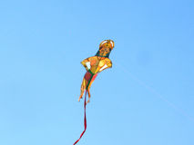 Lord Hanuman kite at International Kite Festival, Ahmedabad Stock Photo