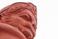 Lord Hanuman tempel av shimla i Indien royaltyfri foto