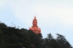 Lord Hanuman tempel av shimla i Indien Arkivbild