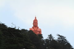 Lord Hanuman-tempel van shimla in India Stock Fotografie