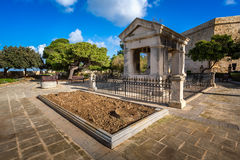 Lord Hastings Monument in Valletta Royalty Free Stock Image