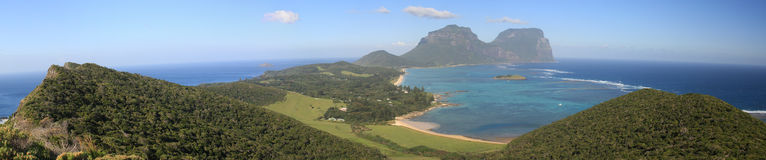 Lord Howe Island stock afbeelding