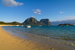 Lord Howe Island Lagoon Royalty Free Stock Image