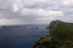 Lord Howe Island view from Mount Eliza Royalty Free Stock Images