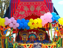 Lord Jagannath- Chariot Festival Royalty Free Stock Image