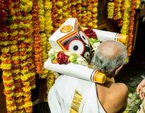 Lord jagannath in rathayatra Stock Photo