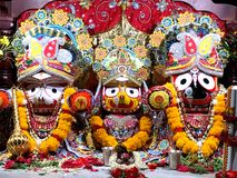 Lord Jagannath Stock Images