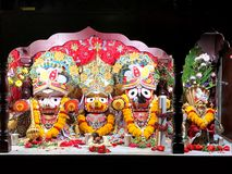 Lord Jagannath Temple Stock Images