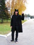 Lord Justin Portman in Biysk. Royalty Free Stock Images