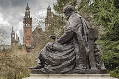 Lord Kelvin Statue image stock