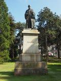 Lord Kelvin-Statue in den botanischen Gärten in Belfast lizenzfreies stockbild