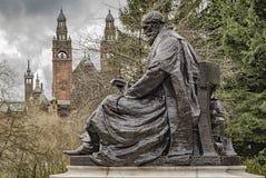 Lord Kelvin Statue Stock Image