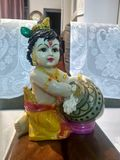 Lord Krishna stockfoto