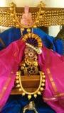 Lord Krishna Fotografering för Bildbyråer